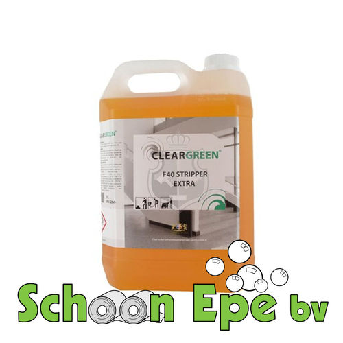 F40 Stripper ClearGreen (5ltr)