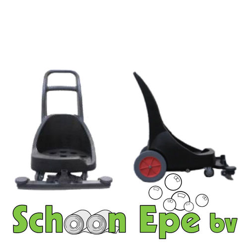 Viper LSU Trolley met vaste waterzuigmond